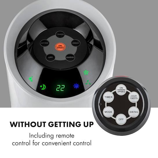 Air cooler functionalities