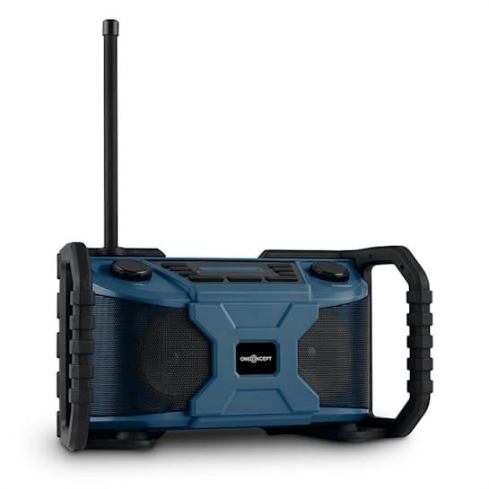 Worksite Outdoor Speaker DAB + FM Bluetooth USB IP54 Battery