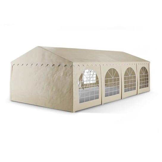 Sommerfest 4x8m 500 g/m² Tendone da Festa Gazebo da Festa PVC Impermeabile Zincato