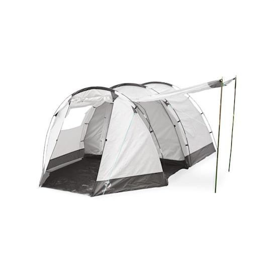 Jomida, szürke, alagút sátor, négyszemélyes, 260x150x410 cm, poliészter, 3000 mm
