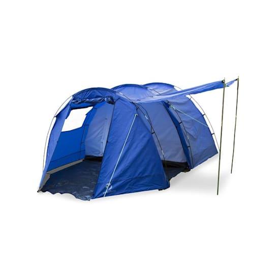 Jomida, 260x150x410 cm, kék, négyszemélyes alagút sátor, poliészter, 3000 mm