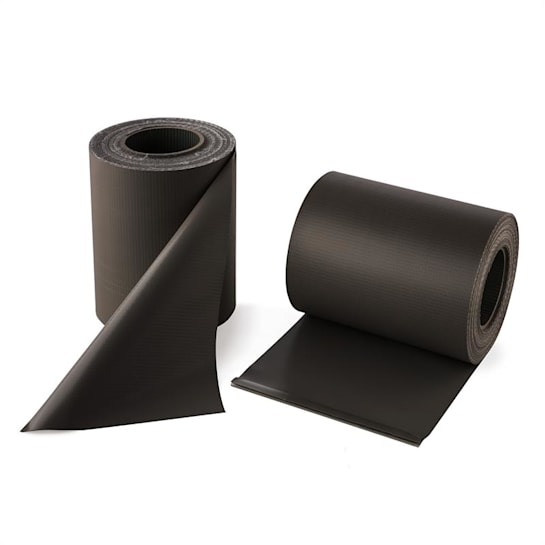 Pureview Screen PVC 2 Rolls 35m x 19cm 60 Binding Bars Dark Grey