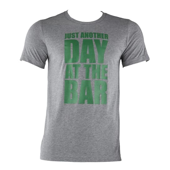 T-shirt allenamento da uomo Taglia M Grigio melange