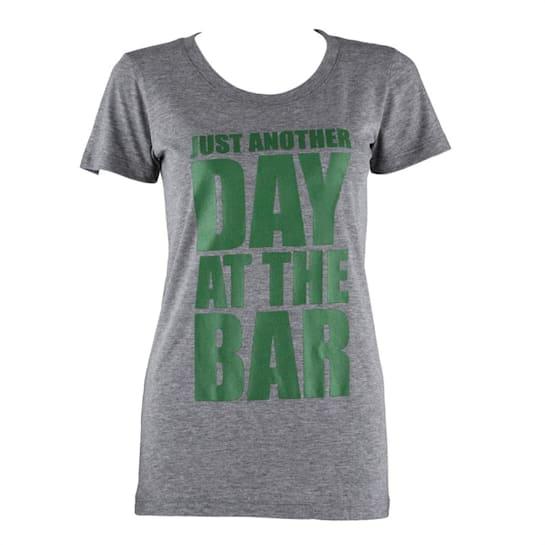 Trainings-T-Shirt für Frauen Size XL Grau meliert