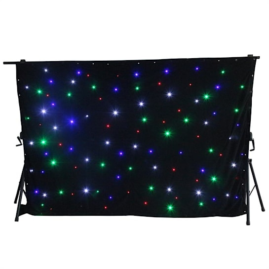 SparkleWall LED Curtain LED RGBW 96 3 x 2 m incl. Remote Control Controller