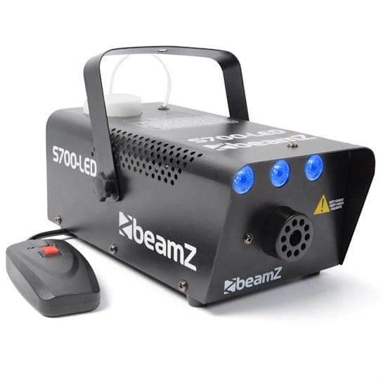 S700LED, 700W, mlhovač s ledovým efektem a dálkovým ovladačem, montážní držadlo