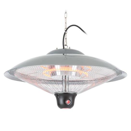Heizsporn Ceiling Radiant Heater 60.5 cm (Ø) LED Lamp Remote Control