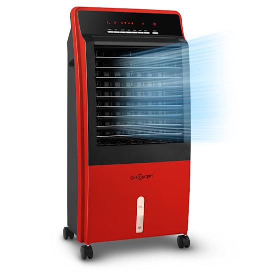 CTR-1 4-in-1 Luftkühler Ventilator Luftbefeuchter Luftreiniger 360 m³/h | 65 Watt | 8 Liter | 3 Geschwindigkeiten | Oszillation | Ionisator | Fernbedienung | mobil