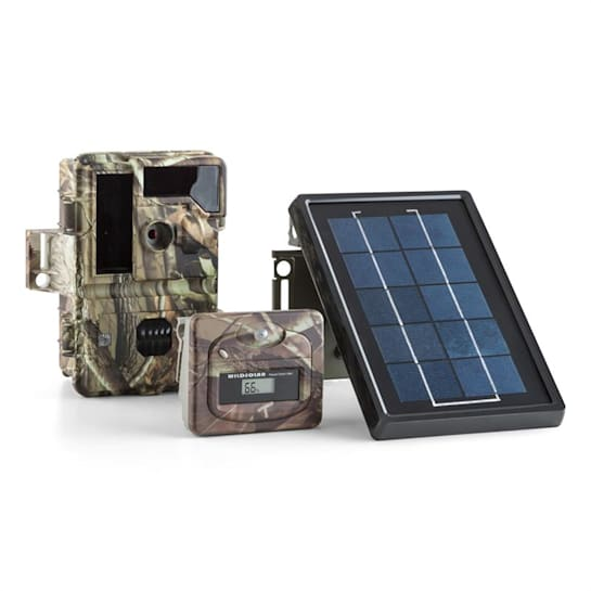 Solar Grizzly Set Action Camera LED HD 8 MP Pannello Solare