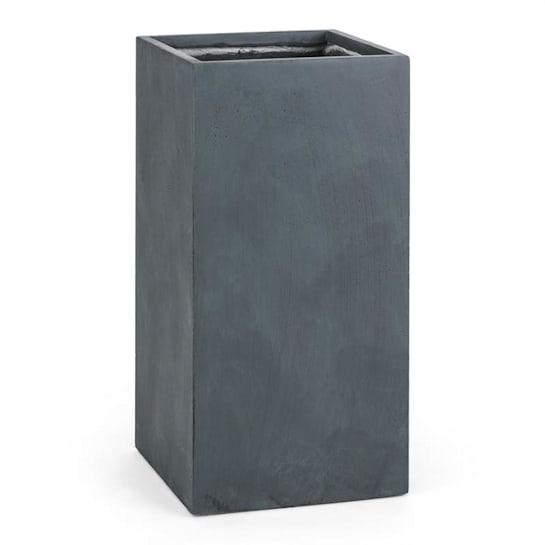 Solidflor Vaso alto Vaso per piante 40x80x40 cm Fiberon Antracite