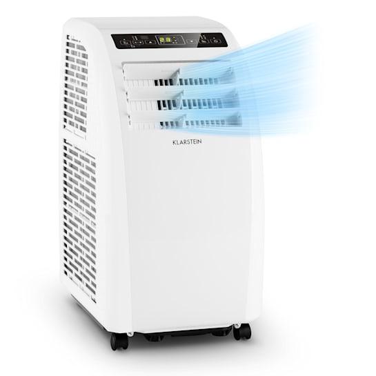 Metrobreeze Rom mobile Klimaanlage 10.000 BTU/3,0 kW EEC A+ Fernbedienung weiß