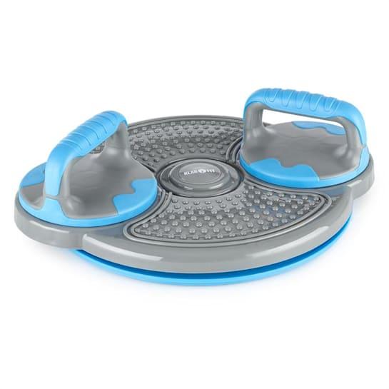 Klartwist Power Twister 3-in-1 Balance Board Push-up-Bars Blue