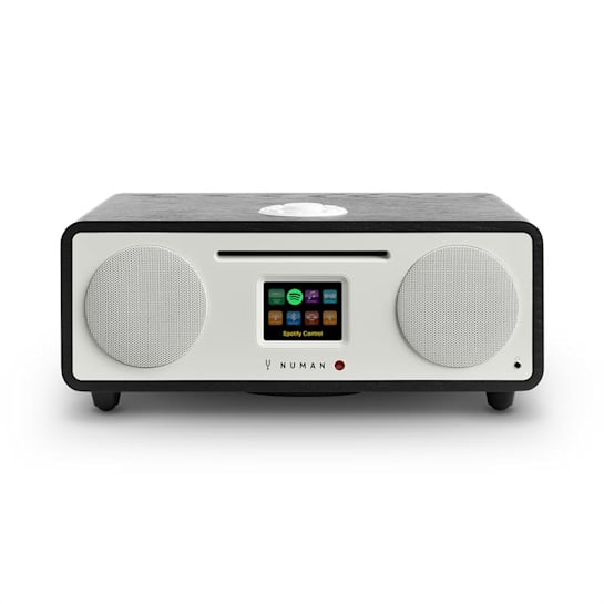 Two - 2.1 Internet-Radio CD 30W USB Bluetooth Spotify Connect DAB+ schwarz
