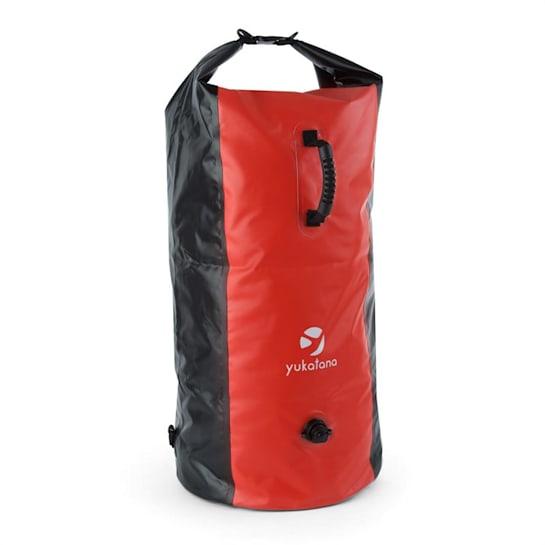 Quintono 100,черно / червен, спортен сак, 100 литра, водоустойчив