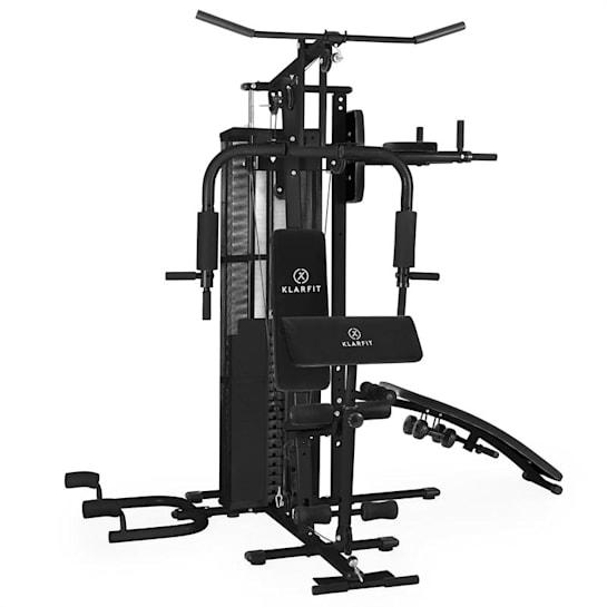 Ultimate Gym 5000 Stazione Fitness Multifunzionale Nero