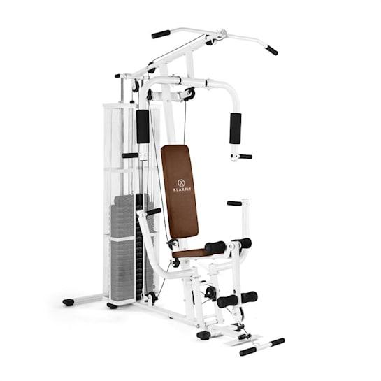 Ultimate Gym 3000 Stazione Fitness Multifunzione Bianca