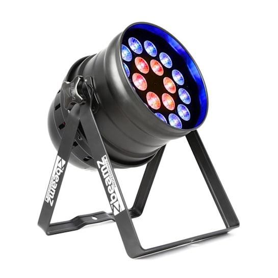 BPP210, LED PAR reflektor, 64 18x 12W 4-v-1 LED diod, včetně dálkového ovládání