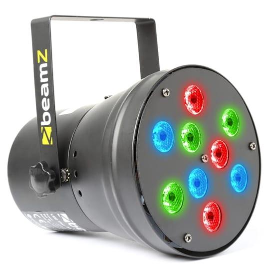 beam Z LED PAR36 Spot LED světelný efekt 9x 1W RGB DMX