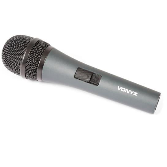 DM825, dynamický mikrofon, XLR, včetně kabelu