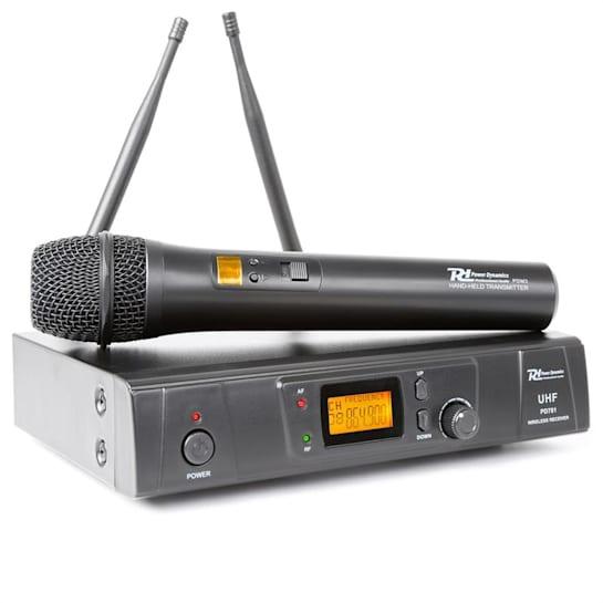 PD781 Sistema Microfono Senza fili 8 canali UHF