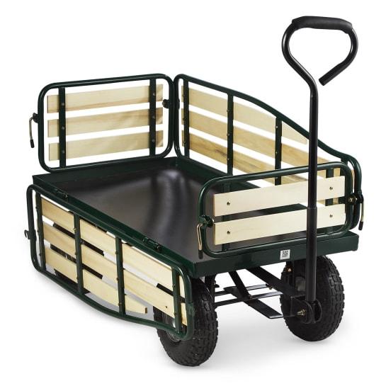 Ventura Handwagen Bollerwagen Schwerlast 300 kg Stahl