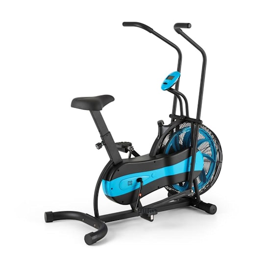 Stormstrike 2k Crosstrainer Exercise Bike Ergometer up to 120 kg Black