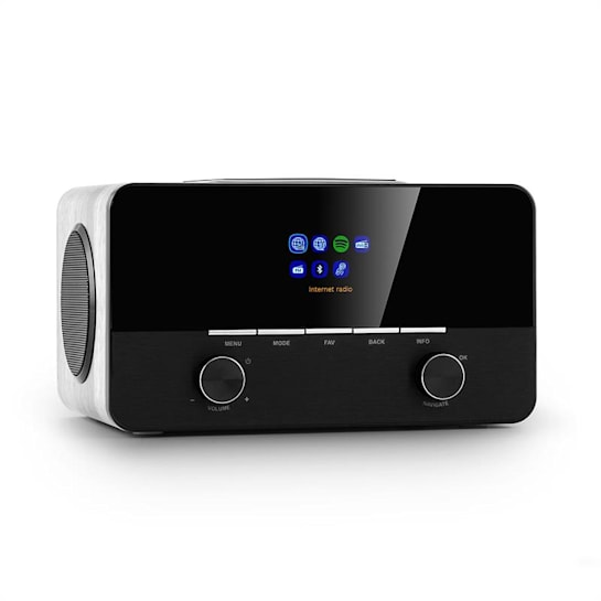 Connect 150 WH Radio por internet 2.1 Reproductor multimedia WLAN LAN USB D