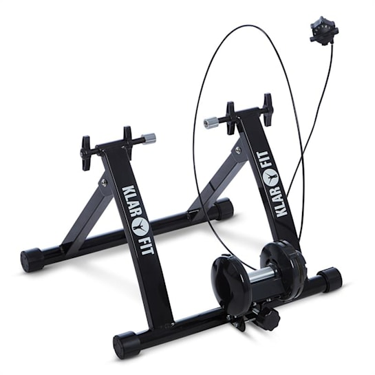 Tourek, čierny, bicykel, rotopéd, domáci trenažér, 26/28 palcov, 100 kg, oceľ
