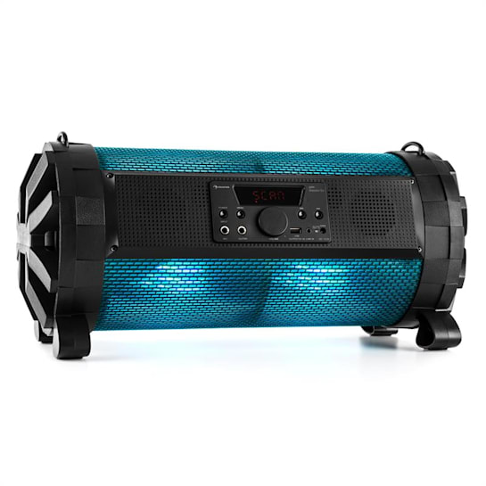 Thunderstorm S Portable Bluetooth Speaker 60W max. Battery Operated USB SD FM APP