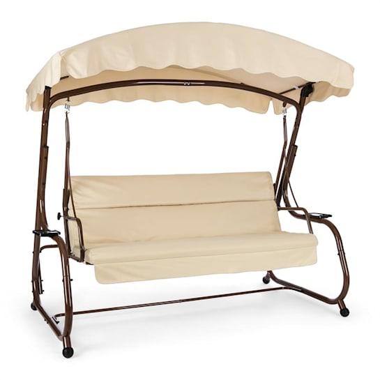 High Society Swing Seat Garden Swing 220 cm Brown