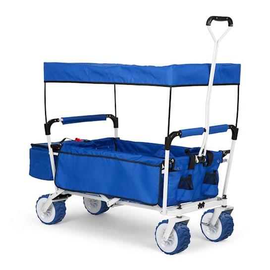 THE Blue SUPREME, cărucior de mână, pliabil, 68 kg,acoperiș de soare