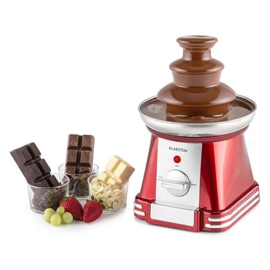 Chocoloco Fontana di Cioccolata 32 W 350g Glassa Rosso