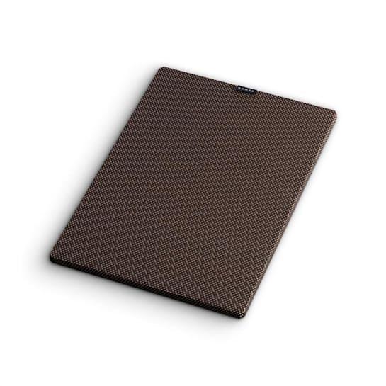 RetroSub Cover, černohnědý, textilní kryt pro aktivní subwoofer, potah pro reproduktor, 2 kusy