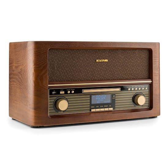 Belle Epoque 1906 DAB Impianto Stereo Retrò Bluetooth CD USB MP3 VHF/MW