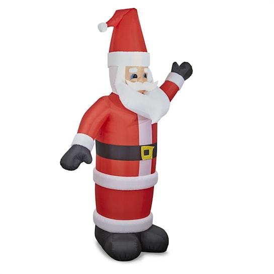 Santa XXL, nafukovací Santa Claus, 350 cm, kompresor, osvetlený 6 LED diódami