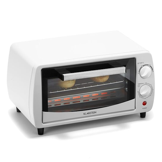 Minibreak Mini Forno 11L 800W 60min Temporizador 250 ° C Branco