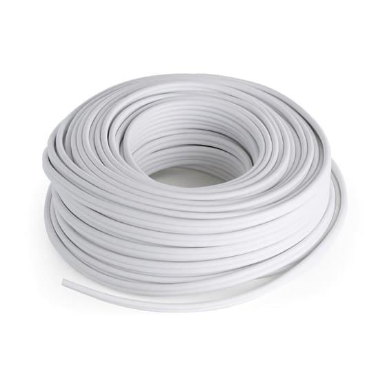 Kaiutinkaapeli - CCA alumiini-kupari 2 x 2,5 mm 30 m valkoinen