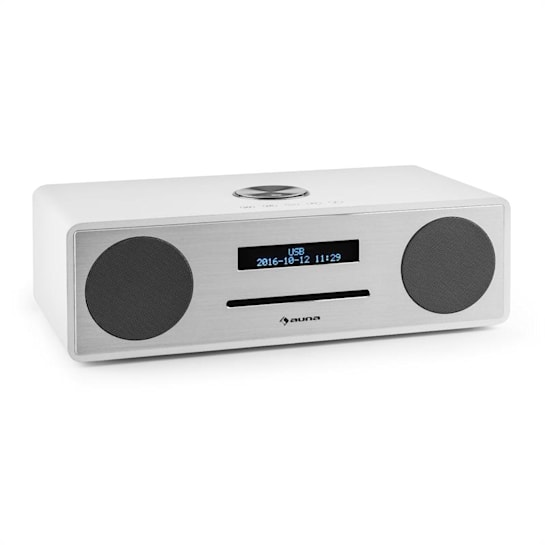 Stanford Radio DAB-CD DAB+ Bluetooth USB MP3 AUX VHF bianco