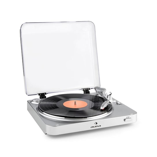 TT-30 BT record player Bluetooth transmitter line-out RCA-USB adapter silver