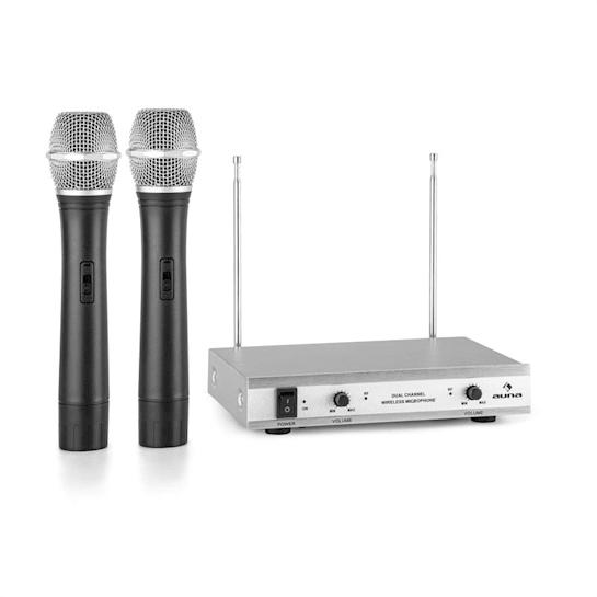 VHF-2-H 2kanálová VHF mikrofonní sada 2x ruční mikrofon 50 m