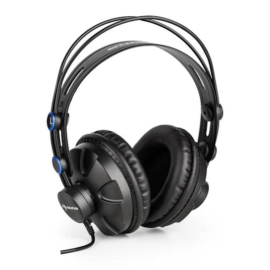 HR-580 - Auscultadores profissionais fechados, Over-Ear, azul