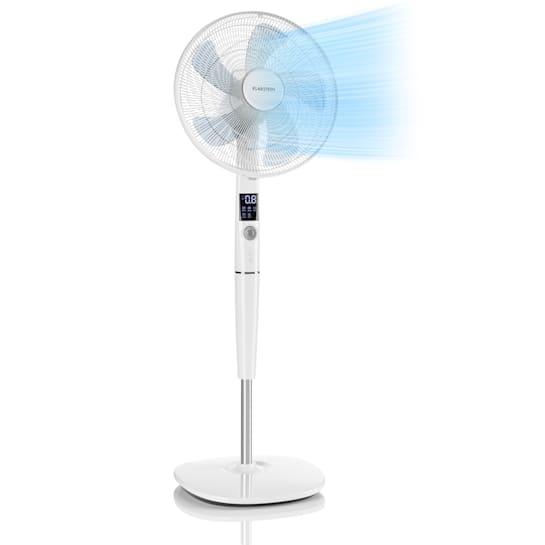 """Silent Storm Floor Fan 16"""" (41cm) 5-Blade 32 dB min. 25.8W White"""