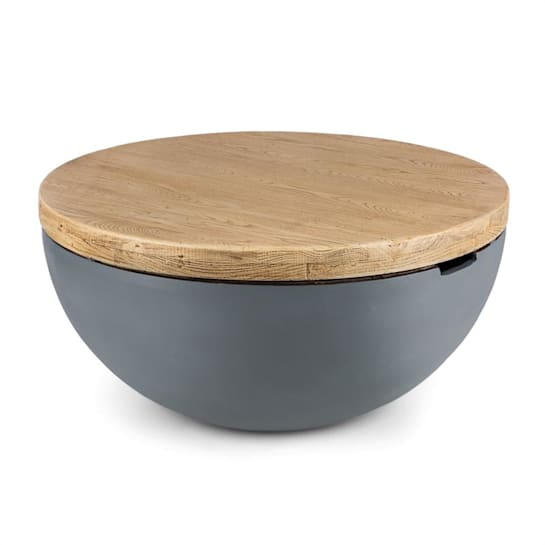 Blockhouse Lounge Ogrodowy stół betonowy okrągły