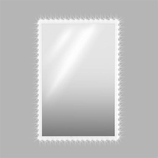 Goldmund, LED křišťálové nástěnné zrcadlo, 120x80, infračervený senzor, 30 LED/metr