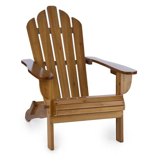 Vermont silla de jardín estilo Adirondack madera de pino 73x88x94 plegable marrón