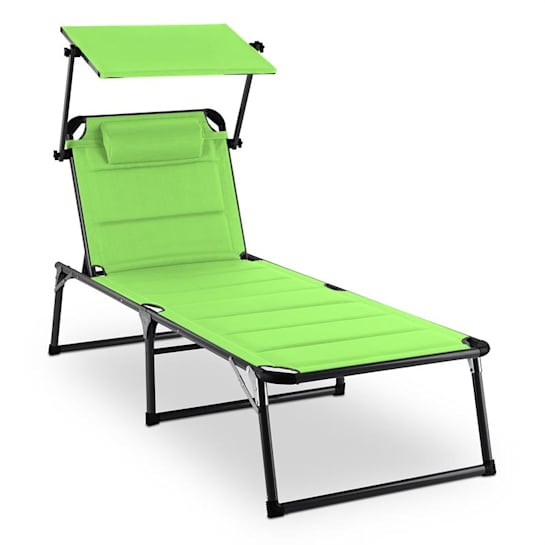 Amalfi Juicy Lime Garden Lounger