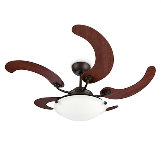 "Viola Ceiling Fan Ceiling Lamp 5 Wing Rotor Ø117cm / 46"" 90W"