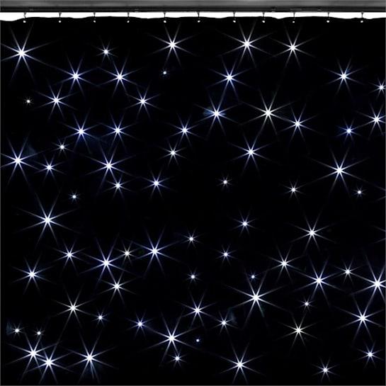 SPARKLEWALL, LED ZASTOR, 96 RGBW LED DIODA – HLADNA BIJELA, 3X2 M, UKLJUČUJUĆI DALJINSKI UPRAVLJAČ