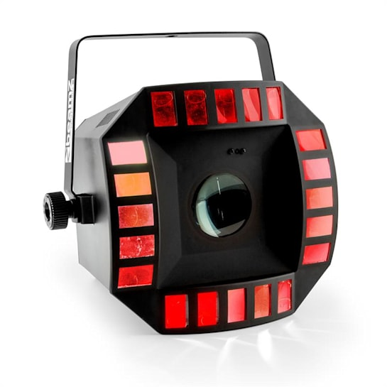 Cub4 II LED 2-in1-LED světelný efekt Quad derby s Moonflower 64 LEDkami RGBAW