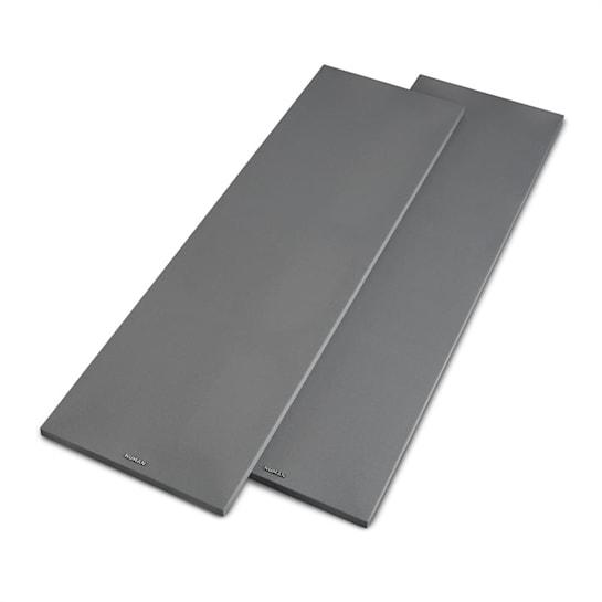 Reference 801 Cover Standlautsprecher-Abdeckung Paar silber